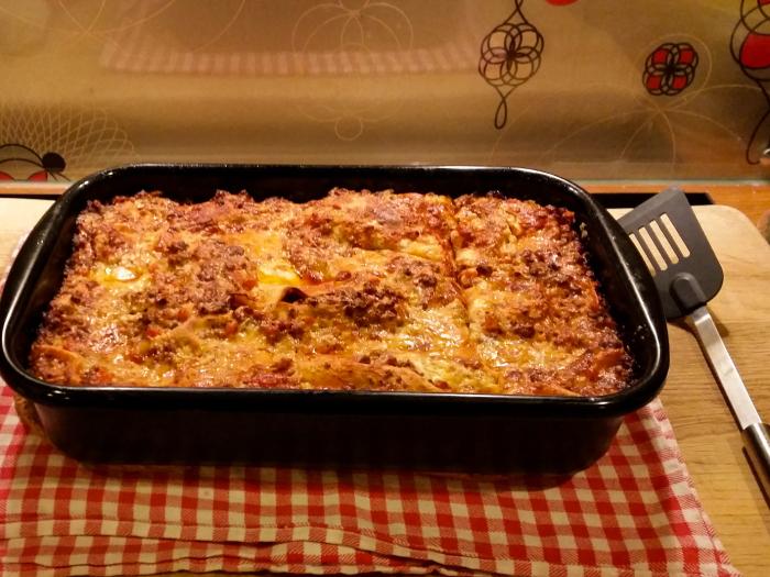 Lasagne, Nudelauflauf, Rezept italienisch