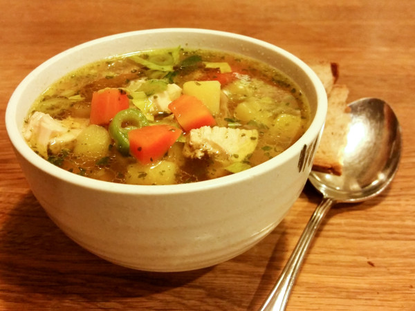 Hühnchensuppe