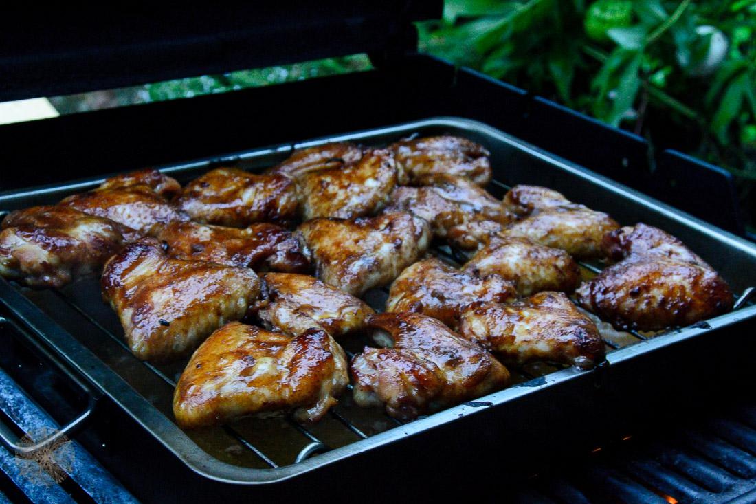 Teriyaki Chicken Wings Grillen BBQ Rezept FrauBpunkt (2 von 4)