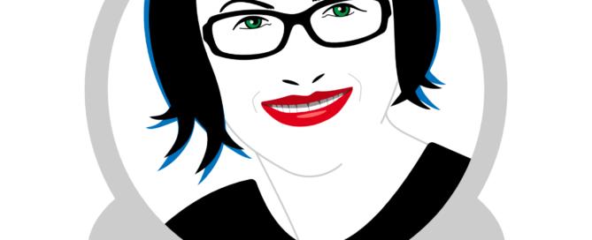 Illustration von Frau B.