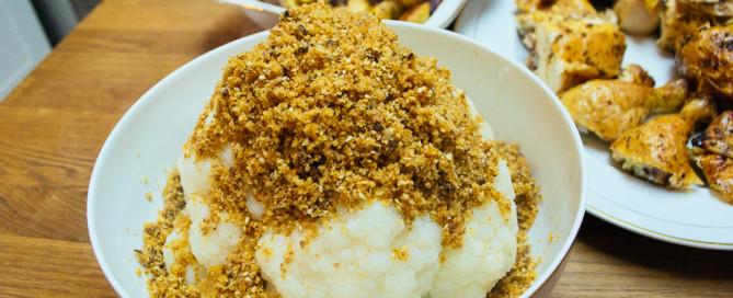 fraubpunkt kerrygold hühnchen blumenkohl brösel weihnachten rezept-10