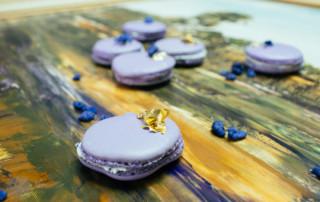 FrauBpunkt Macarons Veilchen Pfeffer Zitrone Rezept-0221