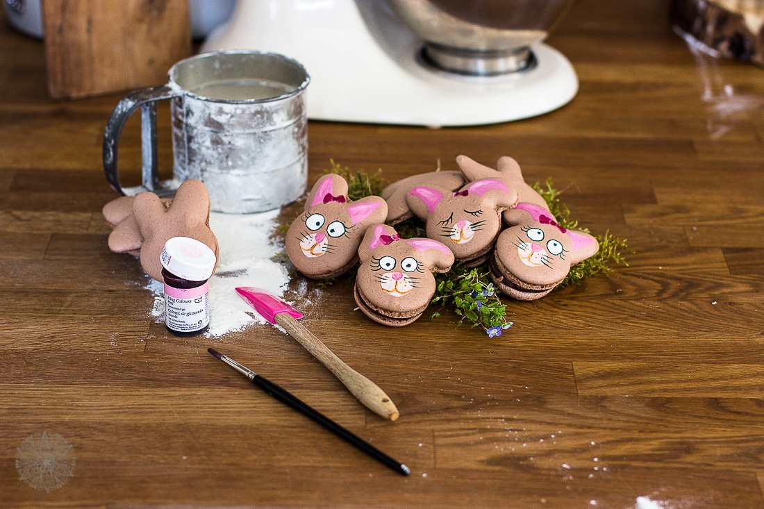FrauBpunkt Ostern Macarons Schokolade Kreatives Allerlei Houseno15a-9
