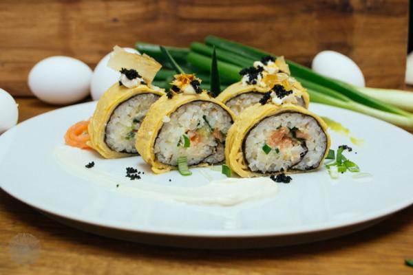 FrauBpunkt Ostern Kreatives Allerlei Sushi Ei-1222