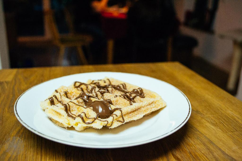 FrauBpunkt Waffeln Veggie Brandteig Nutella Rezept-8