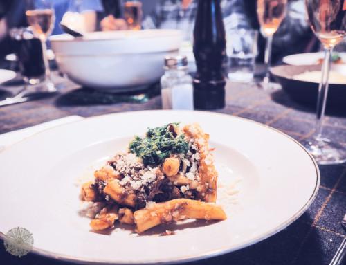 Soulfood – Langsam geschmorte Haxe vom Black Angus mit homemade Pasta