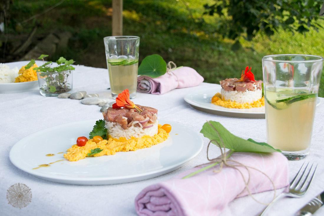 FrauBpunkt Ahi Thunfisch Poke Sushi Veränderung Storytelling Rezept (12 von 17)