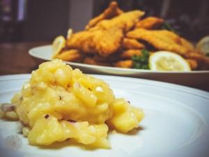 Wiener Schnitzel Kartoffelsalat Tischkultur FrauBpunkt (18 von 37)